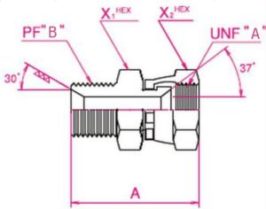 建機用(他)アタッチメントホース変換用アダプター