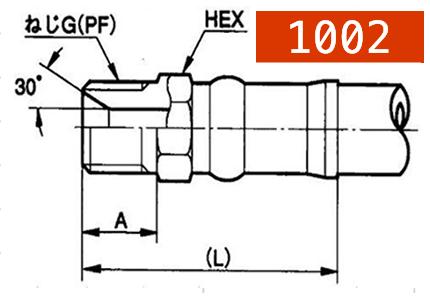 横浜高圧油圧ホース用カプラー1002