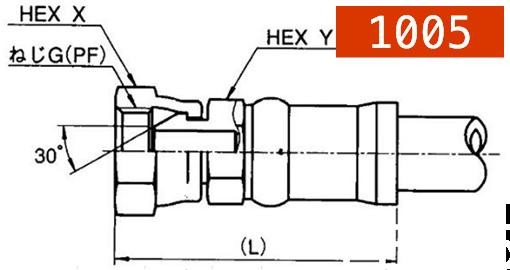 横浜高圧油圧ホース用カプラー1005