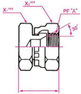 ガスネジ用盲プラグ 取り付け金具(13)