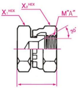 メクラ Mネジ(メートルネジ)用盲プラグ 取り付け金具(13ミリネジ)