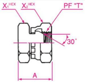 盲プラグ(油止め)ガスネジ用 105 6mm